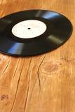Oude grammofoonplaat Stock Afbeelding
