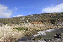 Oude Granietmijn Cornwall Engeland Stock Afbeelding