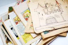 Oude grappige boeken Royalty-vrije Stock Foto