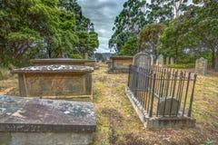 Oude graven Royalty-vrije Stock Afbeeldingen
