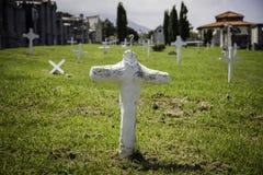 Oude graven van een begraafplaats royalty-vrije stock fotografie