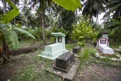 Oude graven in Vietnam royalty-vrije stock foto's