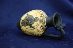 Oude Griekse amfora Royalty-vrije Stock Fotografie