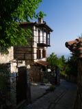 Oude Griekse architectuur Royalty-vrije Stock Fotografie