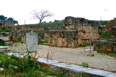 Oude Griekse corinth stock afbeelding