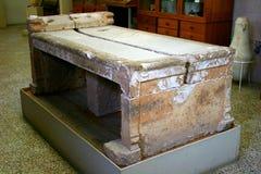 Oude Griekse corinth royalty-vrije stock afbeeldingen
