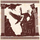 Oude Griekse godsprometheus vector illustratie