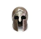 Oude Griekse Helm Royalty-vrije Stock Afbeeldingen
