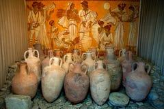 Griekse vaas drie royalty vrije stock afbeelding afbeelding 8153326 - Oude griekse decoratie ...