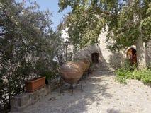 Oude Griekse kruiken Stock Foto's