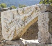 Oude Griekse stad Ephesus Stock Foto