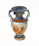 Oude Griekse Vaas Royalty-vrije Stock Foto