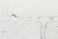 Oude grijze barst concrete muur Royalty-vrije Stock Foto