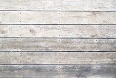Oude grijze doorstane promenade Royalty-vrije Stock Afbeelding