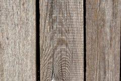 Oude grijze houten planking achtergrond met barsten royalty-vrije stock fotografie