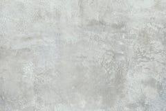 Oude grijze muur grunge concrete achtergrond met natuurlijke cementtextuur Stock Foto