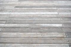 Oude grijze promenade Stock Afbeeldingen