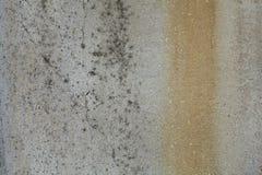 Oude grijze roestige ruwe concrete muurtextuur Stock Afbeelding