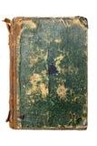 Oude groene boekdekking Stock Foto's
