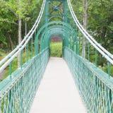 Oude groene brug Royalty-vrije Stock Foto