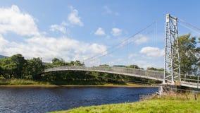 Oude groene brug Royalty-vrije Stock Fotografie