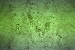 Oude groene metaal hued oppervlaktetextuur - aardige abstracte fotoachtergrond stock afbeelding