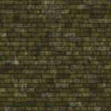Oude groene muur Royalty-vrije Stock Afbeeldingen