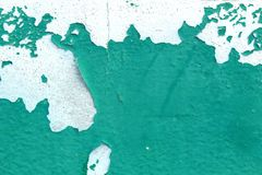 Oude groene verfkleur stock afbeeldingen