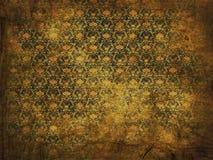 Oude grunge bloemenachtergrond royalty-vrije stock afbeelding