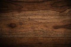 Oude grunge donkere geweven houten achtergrond Stock Afbeelding