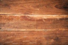 Oude grunge donkere geweven houten achtergrond Royalty-vrije Stock Foto's