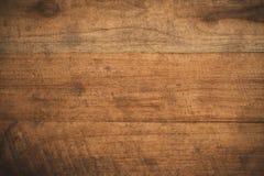 Oude grunge donkere geweven houten achtergrond Royalty-vrije Stock Foto