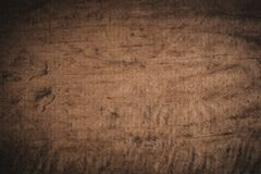 Oude grunge donkere geweven houten achtergrond Stock Fotografie