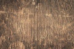 Oude grunge donkere geweven houten achtergrond Royalty-vrije Stock Fotografie
