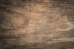 Oude grunge donkere geweven houten achtergrond Royalty-vrije Stock Afbeeldingen