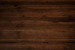 Oude grunge donkere geweven houten achtergrond Stock Foto's