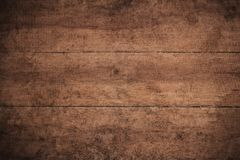 Oude grunge donkere geweven houten achtergrond, de oppervlakte van de oude bruine houten textuur, het hoogste mening bruine houte royalty-vrije stock foto's