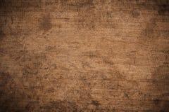 Oude grunge donkere geweven houten achtergrond, de oppervlakte van de oude bruine houten textuur, het hoogste mening bruine houte royalty-vrije stock fotografie