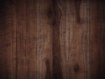 Oude grunge donkere geweven houten achtergrond, de oppervlakte van ol Royalty-vrije Stock Afbeelding