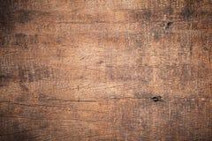 Oude grunge donkere geweven houten achtergrond, de oppervlakte van ol Stock Afbeeldingen