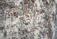 Oude grunge geschilderde metaaloppervlakte royalty-vrije stock afbeeldingen