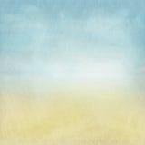 Oude grungeachtergrond met gevoelige abstracte canvastextuur Royalty-vrije Stock Foto's