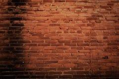 Oude grungebakstenen muur Royalty-vrije Stock Afbeeldingen