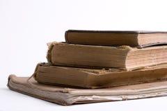 Oude grungeboeken Royalty-vrije Stock Foto's