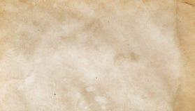 Oude grungedocument textuur Stock Afbeeldingen