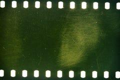 Oude grungefilmstrip Stock Afbeeldingen