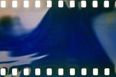 Oude grungefilmstrip Royalty-vrije Stock Foto