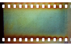 Oude grungefilmstrip Royalty-vrije Stock Afbeelding