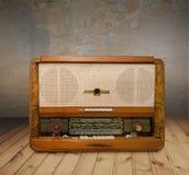 Oude grungeradio stock fotografie