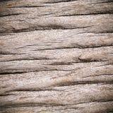 Oude grungy gebarsten houten textuur Stock Afbeelding